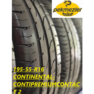195/55 R 16 CONTINENTAL-CONTIPREMIUMCONTACT 2