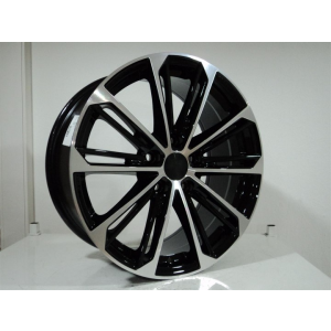 7.5 X 17 DY-297 5X112 ET45 57.1 BLACK MACHINED XL